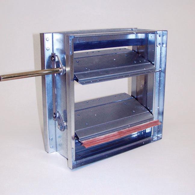 Volume Control Damper : Volume control dampers metropolitan air technology