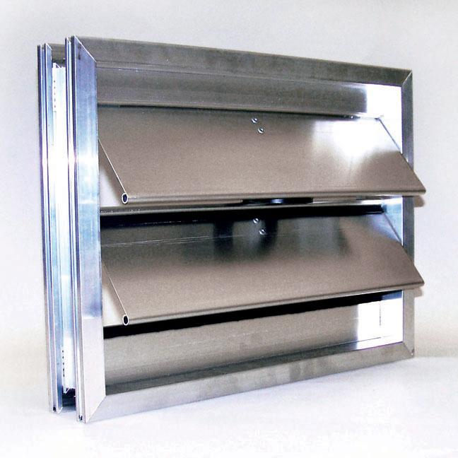 Backdraft/Pressure Relief Dampers - Metropolitan Air Technology