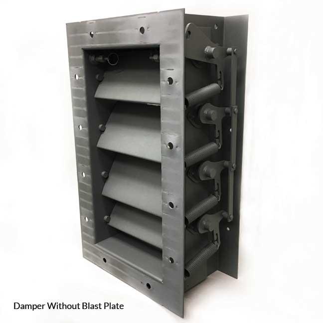 Blast Dampers Metropolitan Air Technology