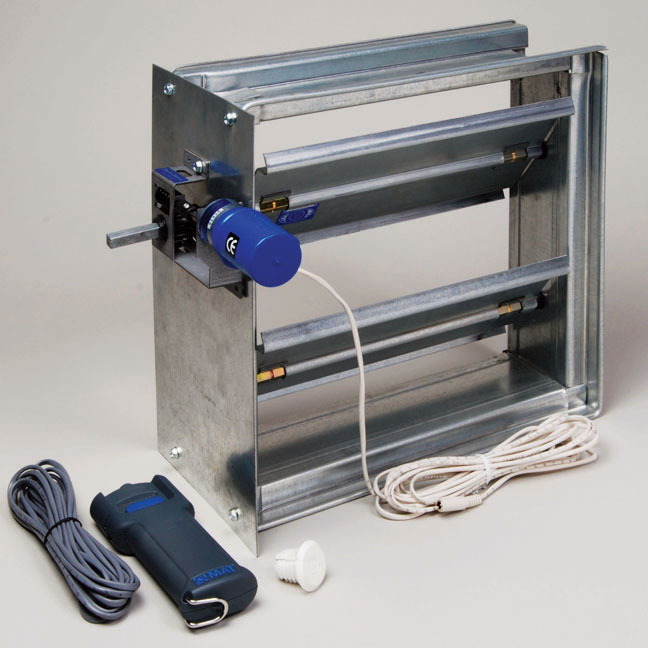 Electro-Balance® Battery Powered Dampers - Metropolitan Air